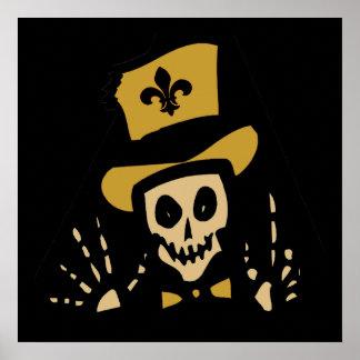 Hombre del vudú de New Orleans Posters