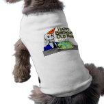 Hombre del Web de araña del feliz cumpleaños viejo Camiseta De Perro
