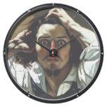 Hombre desesperado de Gustave Courbet Reloj Aqua Clock