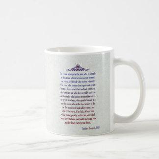 Hombre en el discurso de Teddy Roosevelt de la Taza De Café