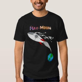Hombre en la luna playeras