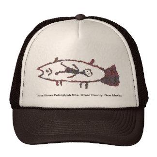 Hombre en los pescados, gorra de la imagen 2 de lo