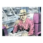 Hombre en Seat 61 postales…