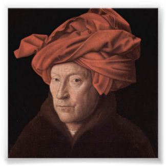 Hombre en un turbante fotografía
