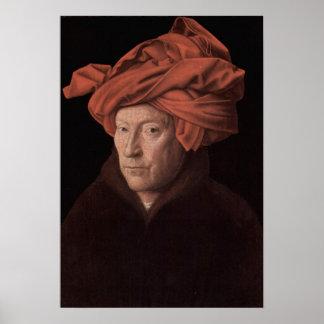 Hombre en un turbante posters