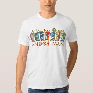 Hombre enojado #1 playeras