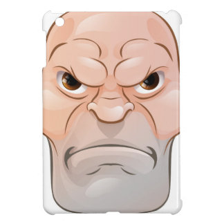 Hombre enojado malo del dibujo animado
