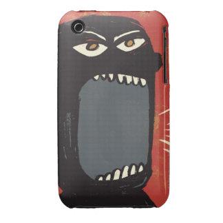Hombre enojado sucio iPhone 3 funda