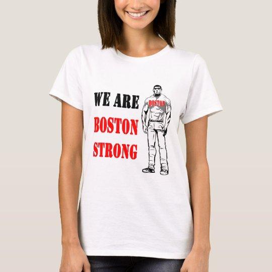 Hombre fuerte de Boston Playera