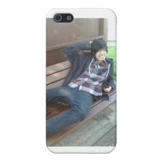Hombre Han de Lester Fu el caso coreano de Krazy iPhone 5 Coberturas