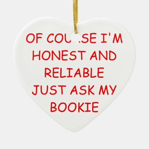 hombre honesto ornamento para arbol de navidad