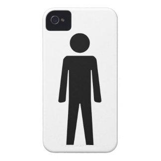 Hombre iPhone 4 Case-Mate Fundas