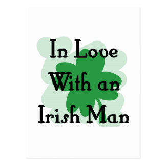hombre irlandés postal