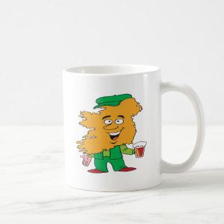 Hombre irlandés taza