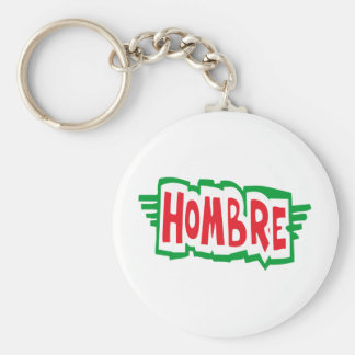 Hombre Keychain