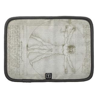 Hombre Leonardo da Vinci arte renacentista de Vit Planificadores