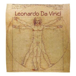 Hombre-Leonardo da Vinci de Vitruvian Bandanas