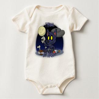 Hombre lobo Babygrow del bebé Mameluco