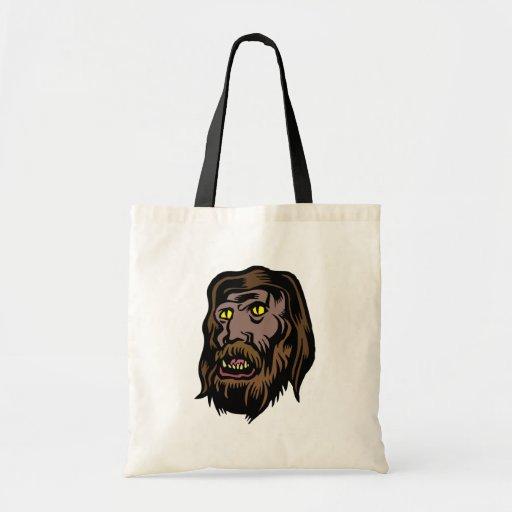 hombre lobo bolsa