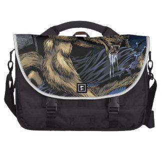 Hombre lobo bolsas para portátil