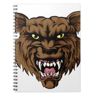Hombre lobo notebook