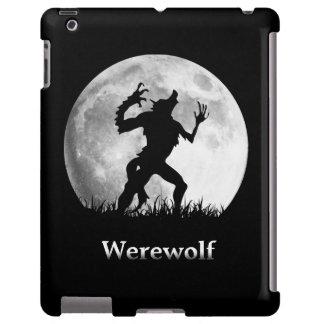 Hombre lobo en la Luna Llena - Halloween fresco Funda Para iPad