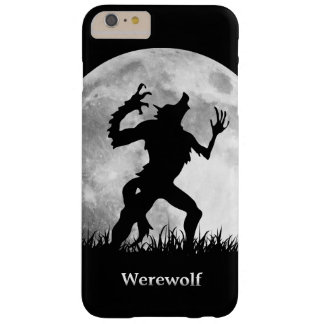Hombre lobo en la Luna Llena - Halloween fresco Funda De iPhone 6 Plus Barely There