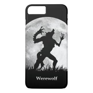 Hombre lobo en la Luna Llena - Halloween fresco Funda iPhone 7 Plus