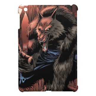 Hombre lobo rojo de la luna