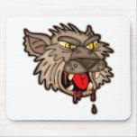 Hombre lobo sediento de la sangre tapetes de ratones