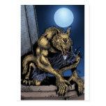 Hombre lobo tarjetas postales