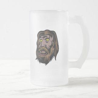 hombre lobo taza