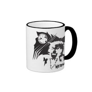 Hombre lobo taza de café
