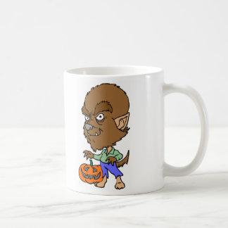 Hombre lobo tazas de café
