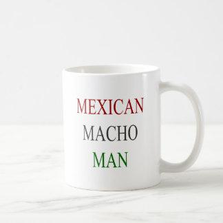 Hombre machista mexicano taza de café