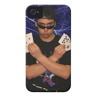 Hombre mágico IPhone de Zack Quinn 4 casos iPhone 4 Case-Mate Protectores
