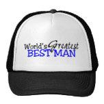 Hombre más grande de los mundos el mejor gorras