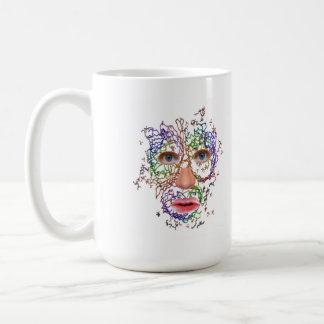 Hombre molecular taza