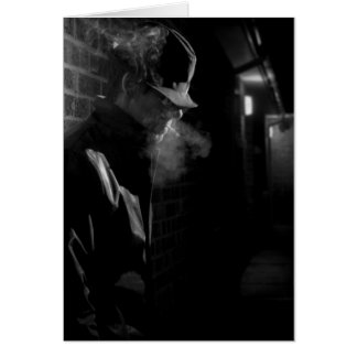 Hombre Noir de la película Tarjeta Pequeña