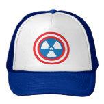 Hombre nuclear gorra