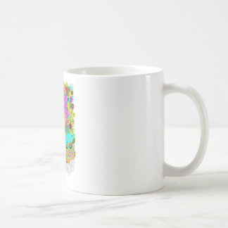 Hombre orgánico taza de café