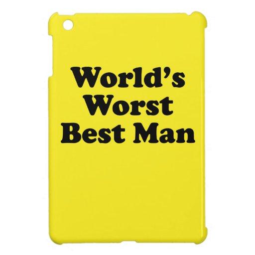 Hombre peor del mundo el mejor iPad mini cárcasas