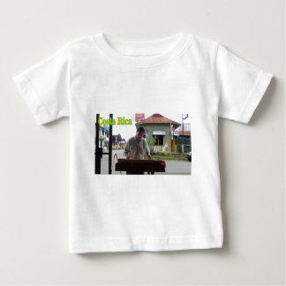 Hombre que toca el xilófono Costa Rica T Shirts