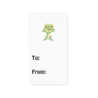 Hombre rana de Loveland Etiquetas De Dirección