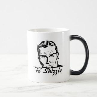 Hombre retro de Fo Shizzle Tazas De Café