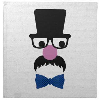 Hombre retro del bigote