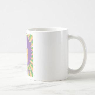 Hombre retro enrrollado del disco de los años 80 8 taza de café