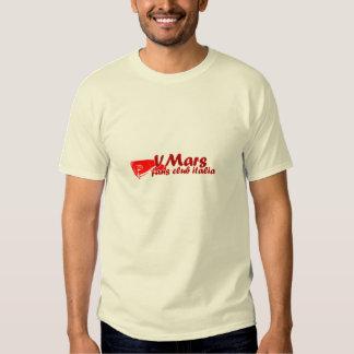 Hombre rojo del taser de la camiseta de VMars Polera