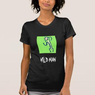 Hombre salvaje camisetas