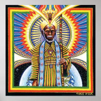 Hombre santo poster